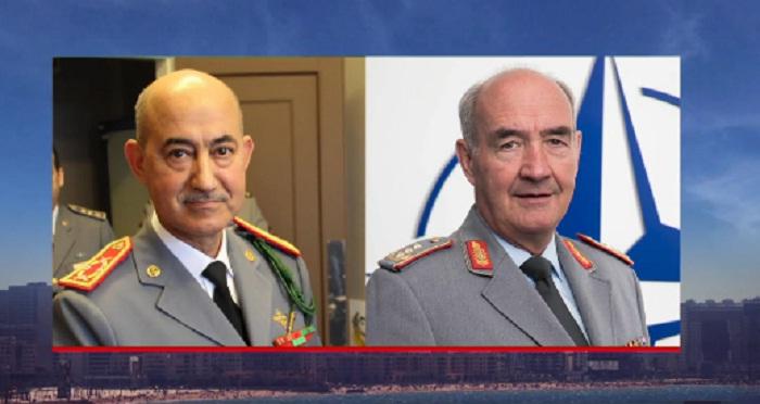 """المفتش العام للقوات المسلحة الملكية يستقبل مسؤولا عسكريا كبيرا بحلف """"الناتو"""""""