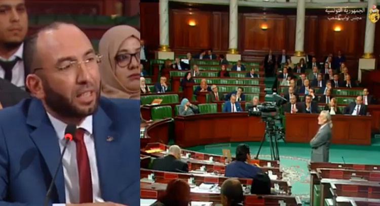 فيديو.. نائب في برلمان تونس وجه كلمات إلى رئيس الوزراء الجديد كأنها طلقات رصاص!