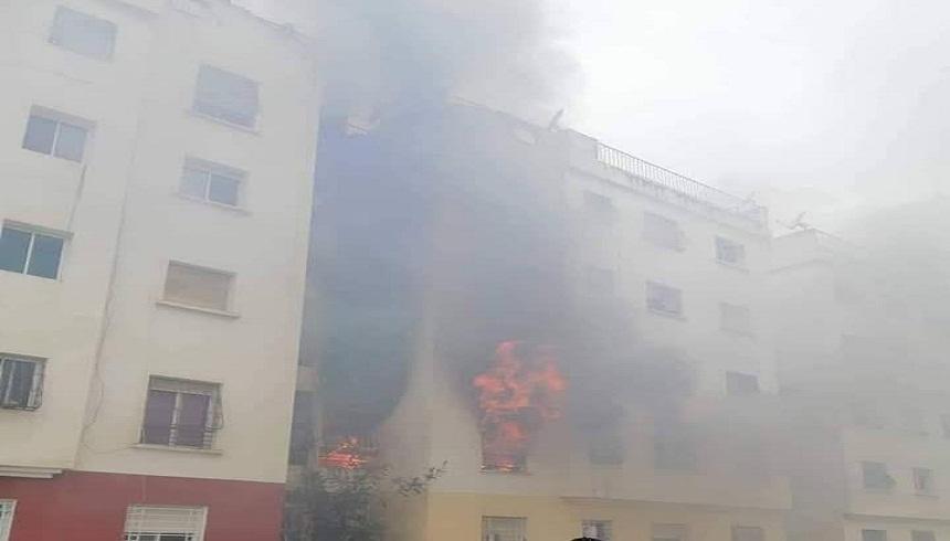 السلطات المحلية لمدينة سلا ترد على اتهام الوقاية المدنية بالتأخر في حريق سلا ووفاة طفل