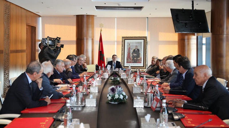 رئيس الحكومة سعد الدين العثماني يبحث مع الأحزاب السياسية الممثلة في البرلمان الاستعدادات للانتخابات المقبلة