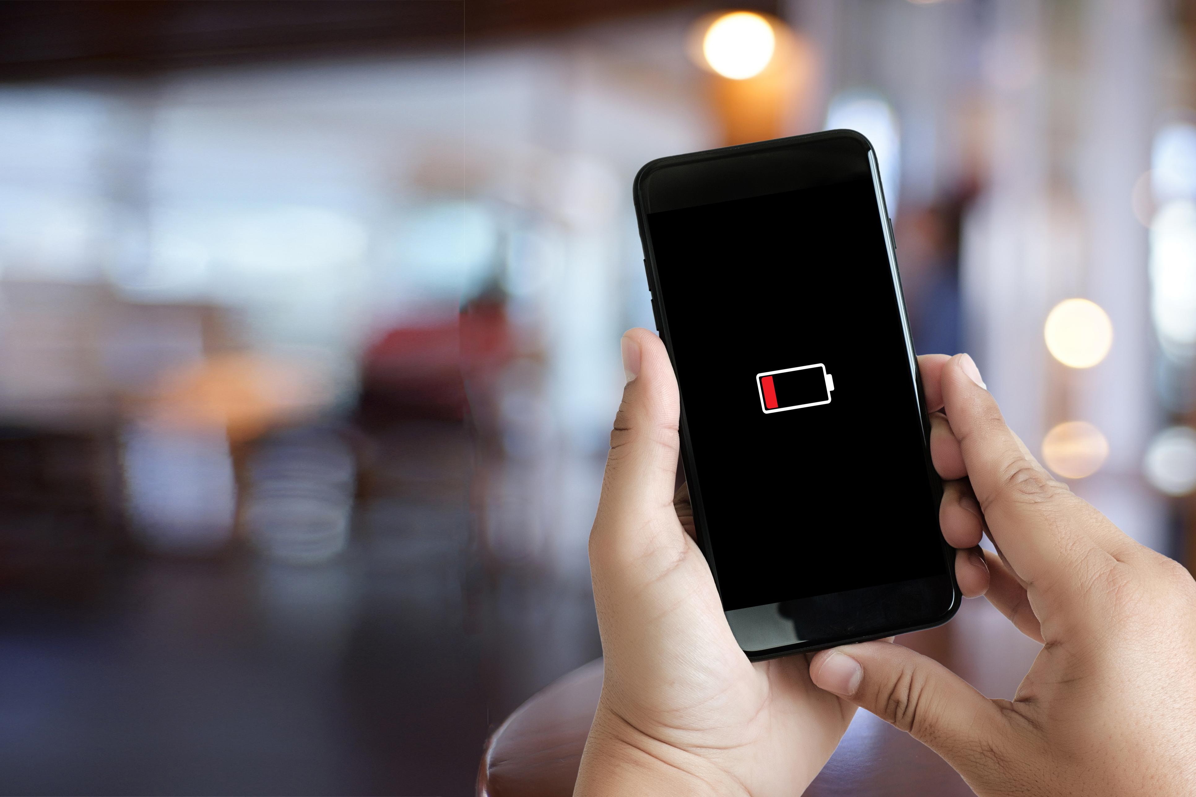 لاطالة العمر الافتراضي لبطارية هاتفك