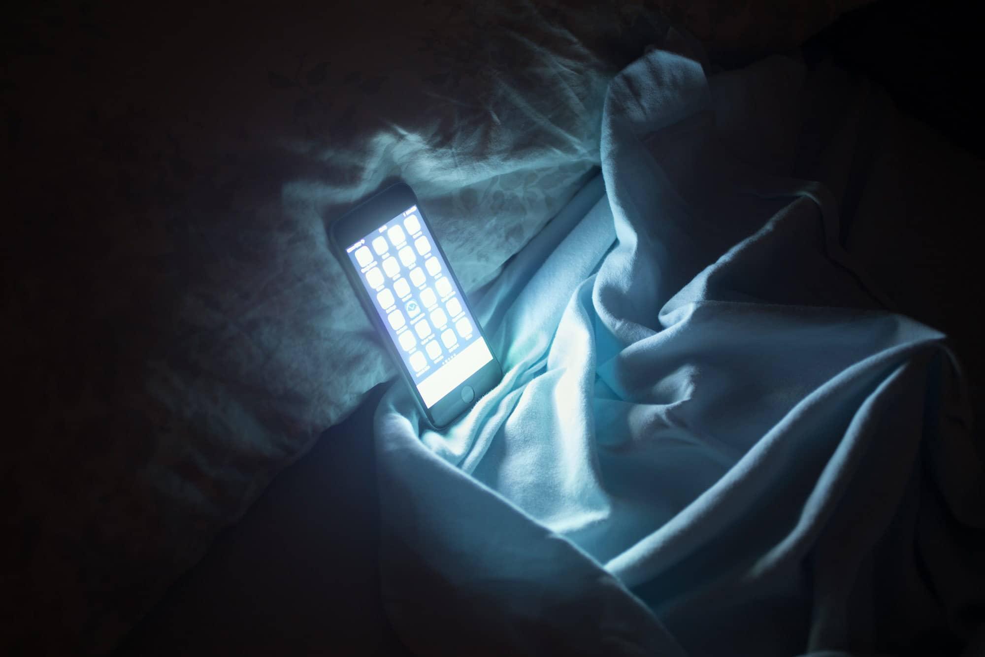 ضوء الشاشة الأزرق مضر