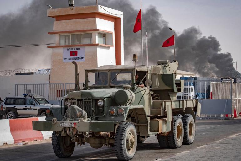 سيارة حربيةالكركرات