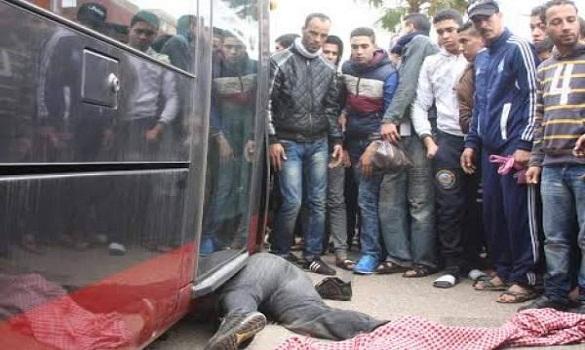 «طرامواي» الدار البيضاء يدهس شابا ويرديه قتيلا