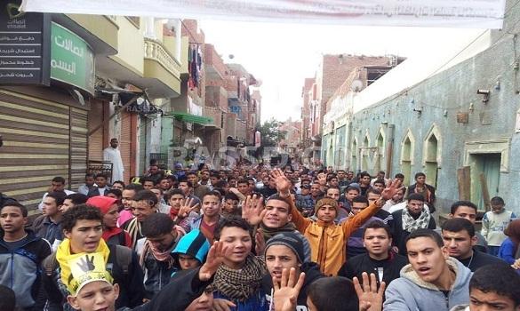 مسيرات «جمعة الصمود.. وفاء لدماء الشهداء»
