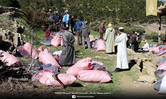 عطاء تدخل البسمة على وجوه أكثر من 200 أسرة من قبيلة آيت الفرح بإقليم تازة