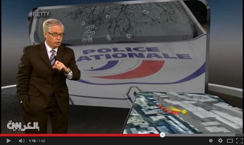 خريطة تشرح هجوم شارلي إيبدو خطوة بخطوة - بي بي سي