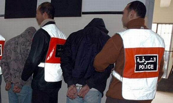 توقيف 7 أفراد من عصابة إجرامية متورطين في اقتراف جرائم بعدد من الأقاليم