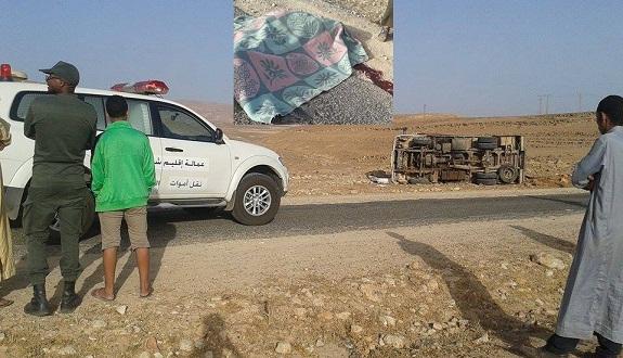 قتلى وجرحى في حادثة سير على طريق متوكة مشارف تاولوكلت إقليم شيشاوة