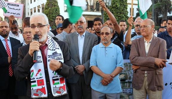 وقفة «نداء الأقصى المبارك» أمام البرلمان اليوم في الرباط