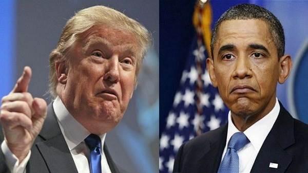 ترامب يتوعد بأن يكون أوباما ضحية ضربته الأولى