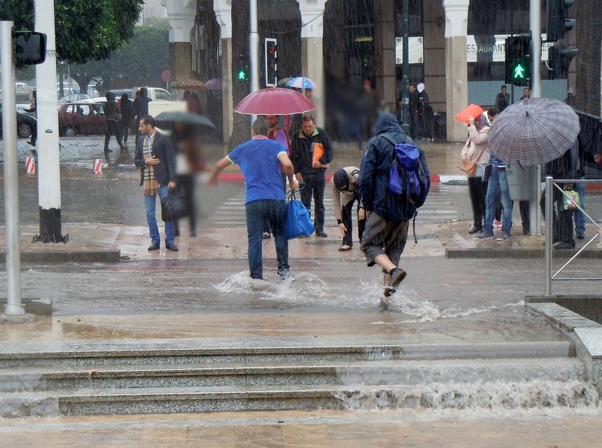 زخات مطرية رعدية منتظرة اليوم الجمعة