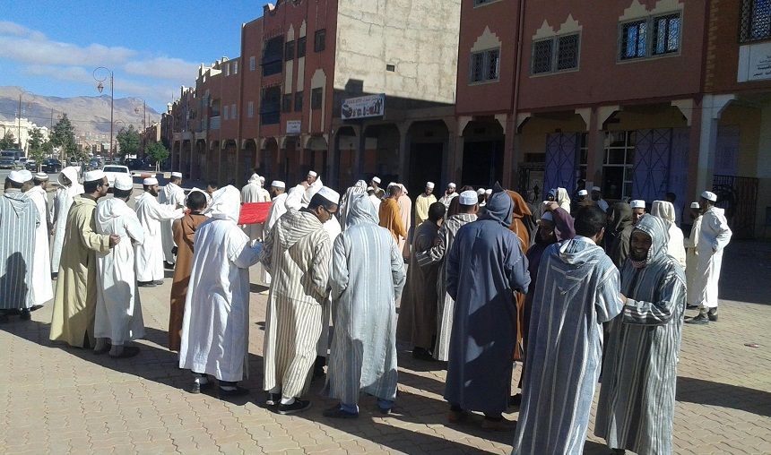 وفاة سبعينية وإصابة خمس نساء في مسيرة احتجاجية بتنغير