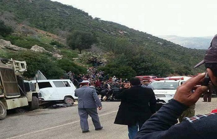 مصرع عشرة أشخاص في حادثة سير بتاسيفت بإقليم شفشاون