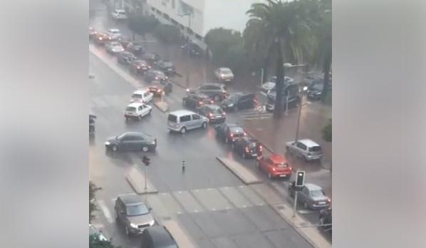 فيديو من الرباط.. أزمة مرور في اتجاه مدينة سلا