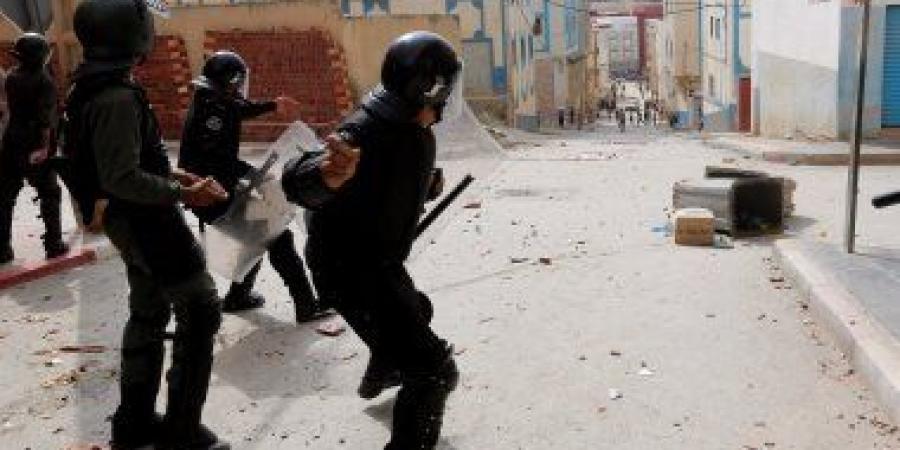عمالة الحسيمة: إصابة 72 عنصرا من القوات العمومية