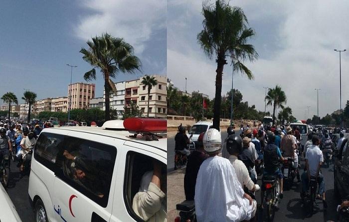 (فيديو) آلاف المشيعين في جنازة الشيخ محمد زحل رحمه الله
