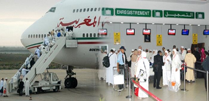 حجاج مغاربة يعتصمون داخل طائرة حتى تم نقلهم إلى الدار البيضاء