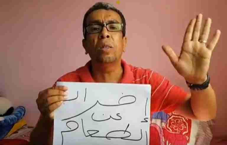 المهدوي يعلن دخوله في إضراب عن الطعام بسبب منعه من العلاج والمستشفى والدواء منذ شهور