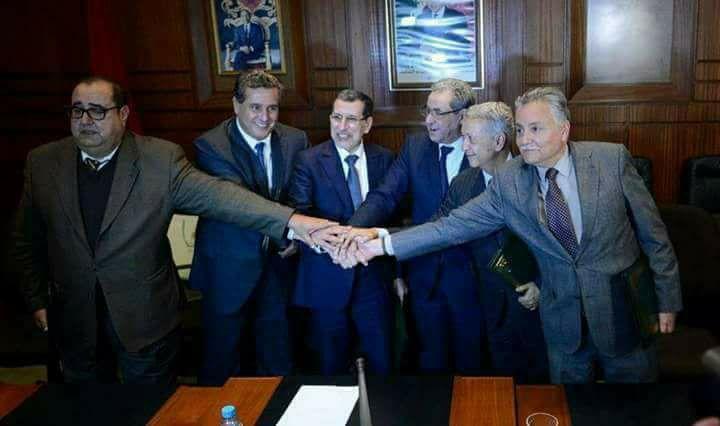 أزمة جديدة بين البيجيدي والاحرار تهدد تماسك الأغلبية الحكومية