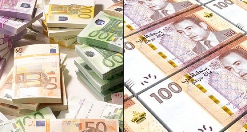 بنك المغرب: انخفاض الدرهم مقابل الأورو بـ 0,09 في المائة وب0.57 مقابل الدولار