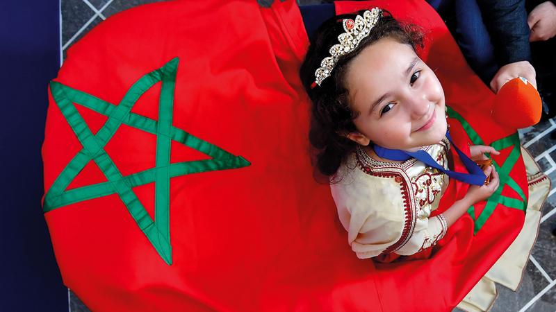 تبارك الله على وليدات المغرب