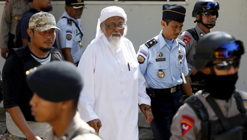 """أخبار عن إفراج مبكر عن """"باعشير"""" زعيم الجماعة الإسلامية بأندونيسيا"""
