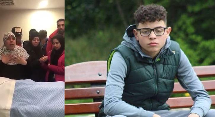 """فيديو.. والدة الفتى المغربي """"عزام"""" الذي اغتالته أيادي العنصرية الإيرلندية: """"لا اعتراض على قضاء الله.. إن شاء الله ألتقي به في الجنة"""""""