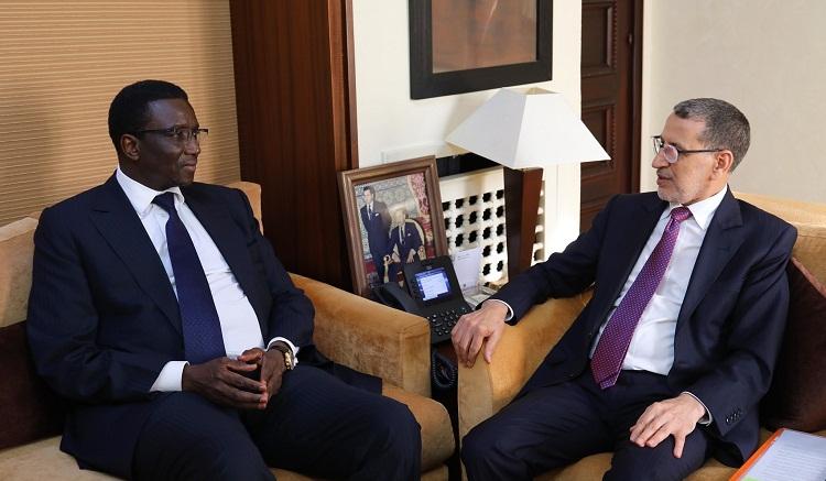 رئيس الحكومة يجري محادثات مع وزير الشؤون الخارجية السنغالي