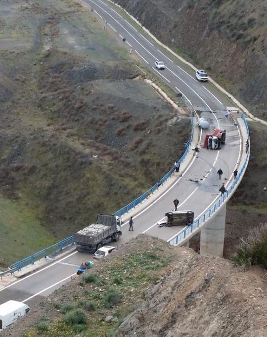 صورة.. حادثة سير خطيرة قرب مركز أمتار بإقليم شفشاون