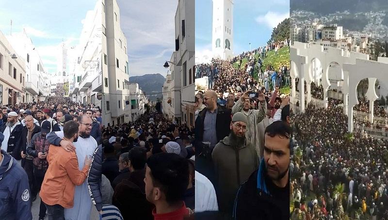 بالصور.. جنازة مهيبة للراحل العلامة محمد بن الأمين بوخبزة -رحمه الله-