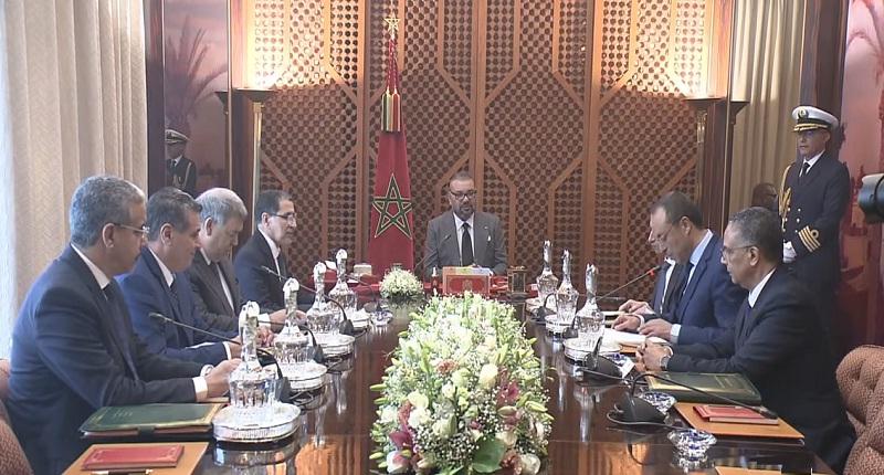 الملك محمد السادس يترأس جلسة عمل حول برنامج التزويد بالماء الشروب ومياه السقي