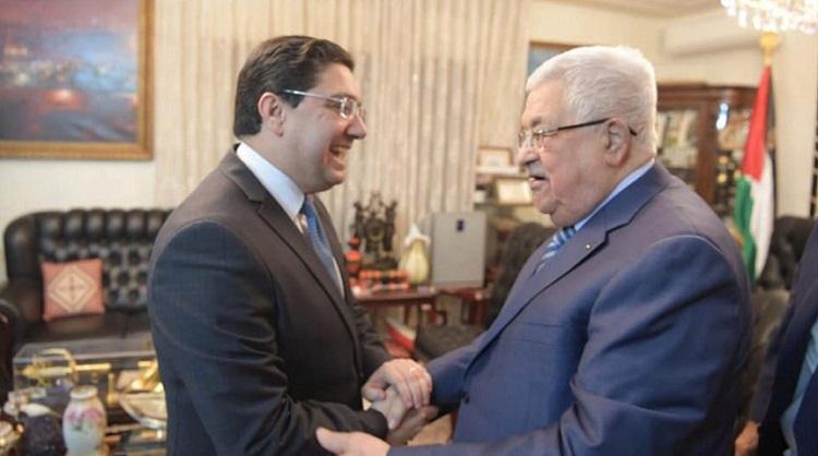 بوريطة: لقاء الرئيس الفلسطيني كان فرصة لتجديد التأكيد على الموقف المغربي الداعم للقضية الفلسطينية